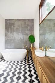 Concrete Tile Backsplash by Best 25 Concrete Bathroom Ideas On Pinterest Cement Bathroom