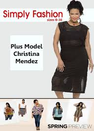 simply fashions plus model mendez to host simply fashion s out