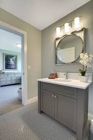 Bathroom Paint Schemes Best 25 Grey Bathroom Cabinets Ideas On Pinterest Grey Bathroom