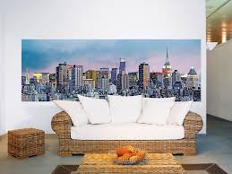 new york skyline landscape wall mural 366 x 127 cm