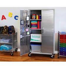 Metal Storage Cabinet With Doors by Metal Storage Cabinet Ebay