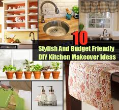 10 stylish and budget friendly diy kitchen makeover ideas