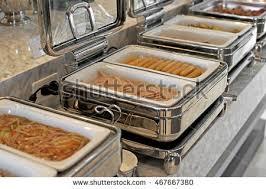 chinese buffet warmer display variety food stock photo 108005408