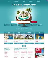 Air travel websites templates free download travel website