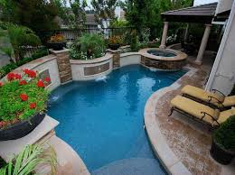 Small Patio Landscaping Ideas Small Swimming Pool Design Best Home Design Ideas Stylesyllabus Us