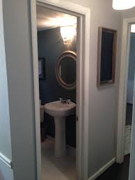 Hardwood In Powder Room Powder Room Transformation U2014 Lifestyled Atlanta