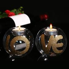 Wedding Candle Holders Centerpieces by Letter Candle Holder Promotion Shop For Promotional Letter Candle