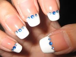 Rhinestone Nail Design Ideas 42 Easy Nail Designs With Rhinestones Nails Pix