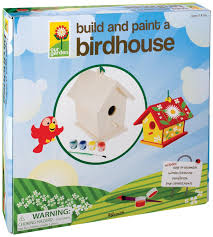 Build A Toy Chest Kit by Amazon Com Toysmith Build And Paint A Birdhouse Toys U0026 Games
