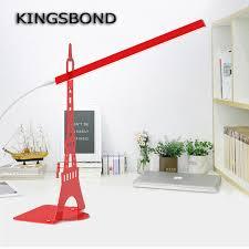 Diy Led Desk Lamp Eiffel Tower Touch Dimmer Usb Led Desk Lamp Led Fation Eye