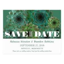 Succulent Wedding Invitations Succulent Save The Date Cards Driftwood Succulent Wedding Save The