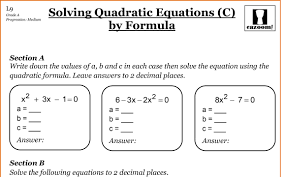 solving linear equations worksheets pdf awesome collection of free
