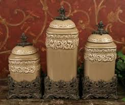 Tuscan Drake Design Kitchen Canisters
