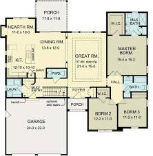 home plans homepw76422 2 454 square feet 4 bedroom 3 13 best 1700 1800 sq ft house images on pinterest ranch home