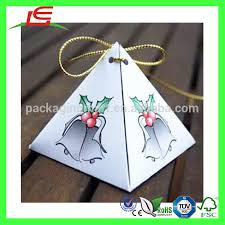 n095 gift boxes pyramid shape packaging decorations