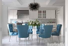 peacock blue chair charming impressive tufted dining chairs contemporary room