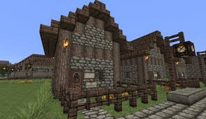 medieval small house minecraft project