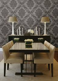beautiful wallpaper dining room ideas gallery home design ideas