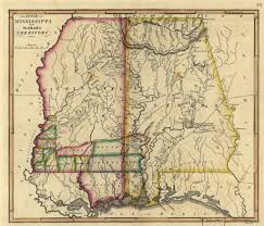 County Map Of Mississippi George Witty Was The First Child Born In Limestone County Alabama