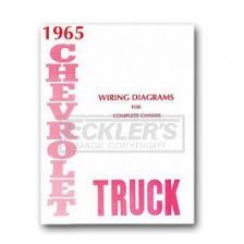 chevy truck wiring diagram 1965