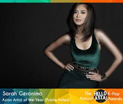 sarah geronimo house pictures philippines philippine pop star sarah geronimo takes out 2015 asian artist of