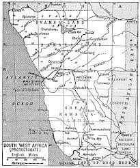 Map West Africa by Big Blue 1840 1940 South West Africa
