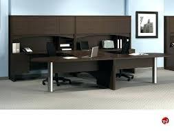 Commercial Computer Desk White Laminate Desk Modern White Laminate Reception Desk