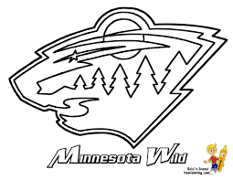 nhl mascots coloring pages nhl logo coloring pages coloring home