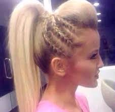 hair with poof on top 73 best kid hair images on pinterest diy braid and creative