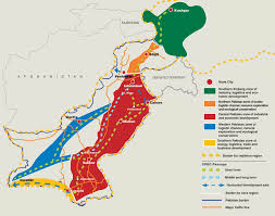 Map Of India And Pakistan by Exclusive Cpec Master Plan Revealed Pakistan Dawn Com