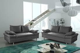 canapé 3 2 places tissu salon complet sofamobili dans canapé 3 2 places tissu frensch info