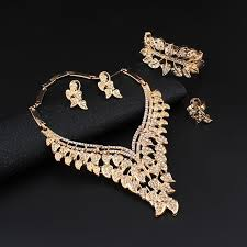 african jewelry necklace set images Jiayijiaduo african jewelry set wedding necklace sets women 39 s jpg