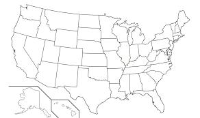 Map Usa States by Blank 50 States Map Map Of Usa