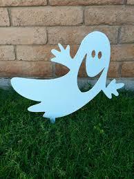 halloween decorations ghost ghost halloween decor halloween yard sign halloween ghost