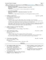 Military Intelligence Resume Gonzalez Resume 2015