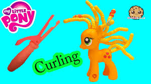 applejack hairstyles mlp applejack cutie twisty do curling hair style playset my little