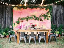 backyard wedding ideas christmas lights decoration
