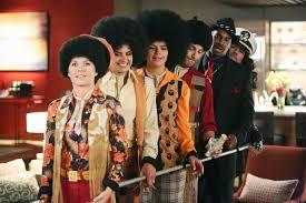 happy endings u0027 halloween sneak peek the gang dresses up as