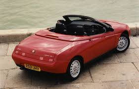 alfa romeo spider convertible 1996 2004 driving u0026 performance