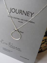 graduation gift jewelry teardrop necklace graduation gift sterling silver journey