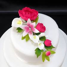 Wedding Cake Flowers Sugarcraft Flowers Wedding Cakes Edinburgh Scotland