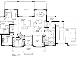 House Plans With Walk Out Basements by Strikingly Beautiful House Plans Beautiful Houses Floor Plans