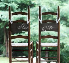 wedding chair signs diy wedding chair signs and groom mountainmodernlife