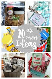 basket ideas 20 gift basket ideas craft o maniac