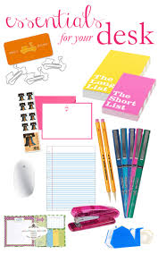 essentials for your desk the college prepster