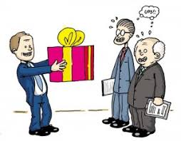 thank you gifts or sales bribes the sales leader