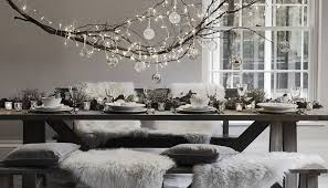 winter wonderland christmas table ideas u2014 find me in the home section
