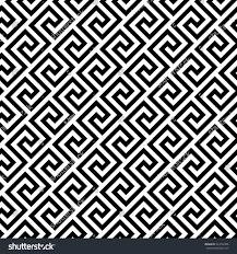 Greek Key Motif Geometric Line Abstract Seamless Pattern Greek Stock Vector