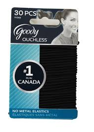 goody hair goody ouchless no metal elastics black walmart canada
