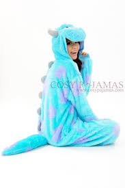 monsters sulley onesie kigurumi costume